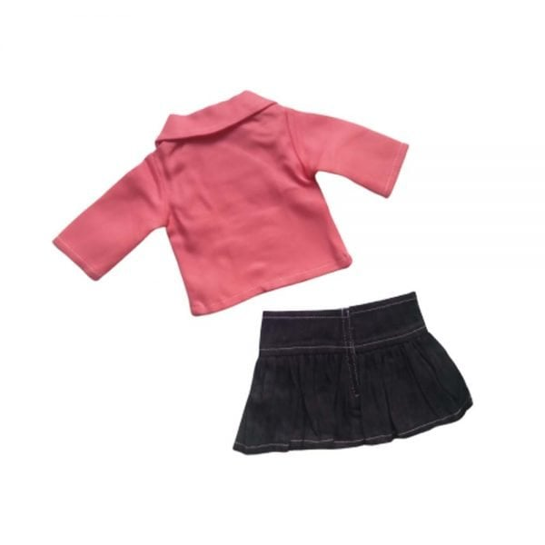 doll skirt and doll coat