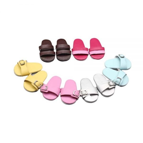 18-INCH doll sandals