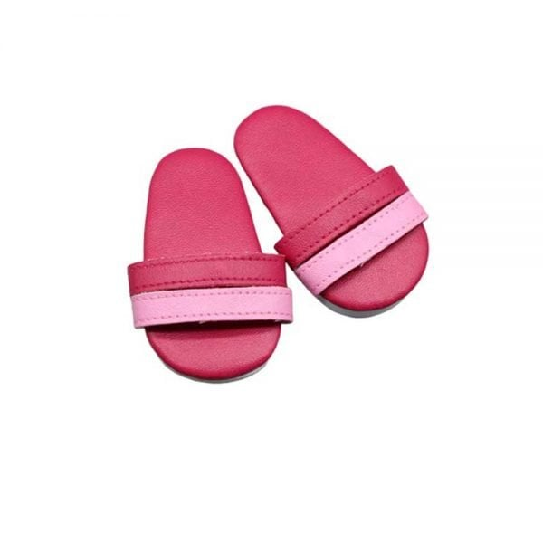 red doll sandals